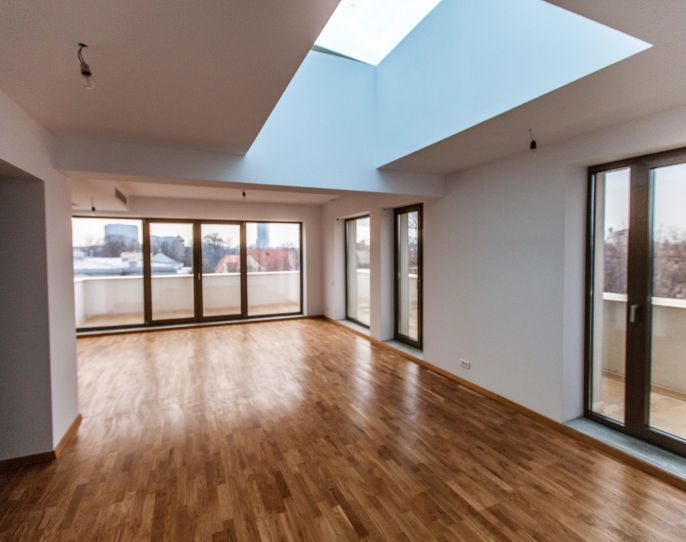 4-room Penthouse in a new building in Aviatorilor | CP352566